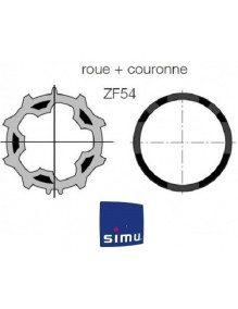 Bagues ZF54 moteur Simu T5 - Dmi5 (bagues)