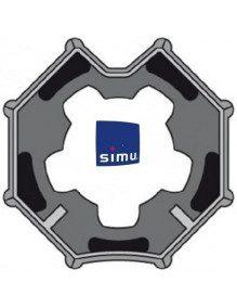 Bagues Octogonales 60 Simbac moteur Simu T5 - Dmi5 (roue)