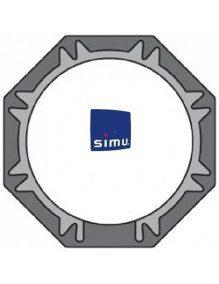 Bagues Octogonales 60 Simbac moteur Simu T5 - Dmi5 (couronne)