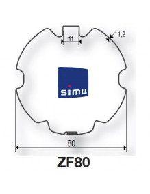 Simu 9521033 - Bagues ZF80 moteur Simu T5 - Dmi5