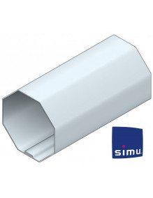 Simu 9521054 - Bagues Octogonales 50 moteur Simu T5 - Dmi5