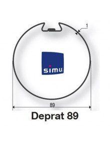 Simu 9521015 - Bagues Deprat 89 moteur Simu T5 - Dmi5