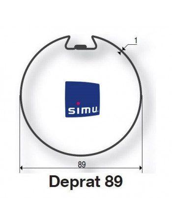 Bagues Deprat 89 moteur Simu T5 - Dmi5