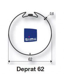 Simu 9521014 - Bagues Deprat 62 moteur Simu T5 - Dmi5