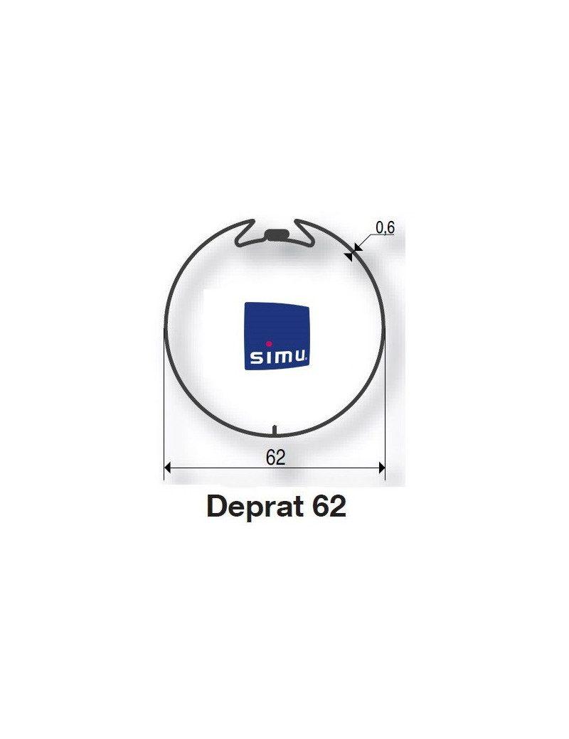 Bagues Deprat 62 moteur Simu T5 - Dmi5