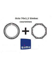 Bagues Octogonales 70 Simbac moteur Simu T5 - Dmi5