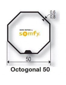 Bagues Octogonales 50 moteur Somfy LT50 et LT50 CSI