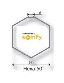 Bagues Hexa 50 moteur Somfy LT50 - LT50 CSI