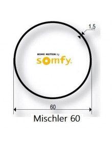 Somfy 9410316 - Bagues Rond 60 Mischler moteur Somfy LT50 et LT50 CSI