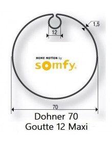 Somfy 9410313 - Bagues Donher 70 goutte 12 moteur Somfy LT50 et LT50 CSI