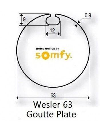 Bagues Wesler 63 moteur Somfy LT50 et LT50 CSI