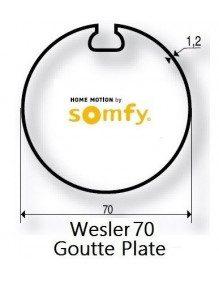 Somfy 9410314 - Bagues Wesler 70 moteur Somfy LT50 et LT50 CSI