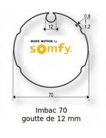 Somfy 9410351 - Bagues Imbac 70 goutte 12 moteur Somfy LT50 - LT50 CSI