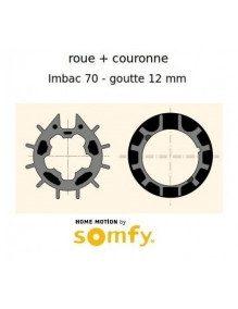 Bagues Imbac 70 goutte 12 moteur Somfy LT50 - LT50 CSI