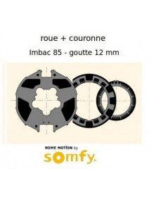 Bagues Imbac 85 goutte 12 moteur Somfy LT50 - LT50 CSI