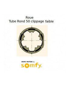 Bagues Rond 50 Clippage faible moteur Somfy LT50 et LT50 CSI