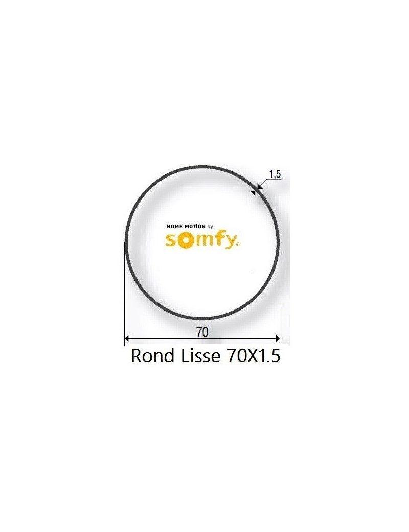 Bagues Rond Lisse 70x1,5 moteur Somfy LT50 et LT50 CSI