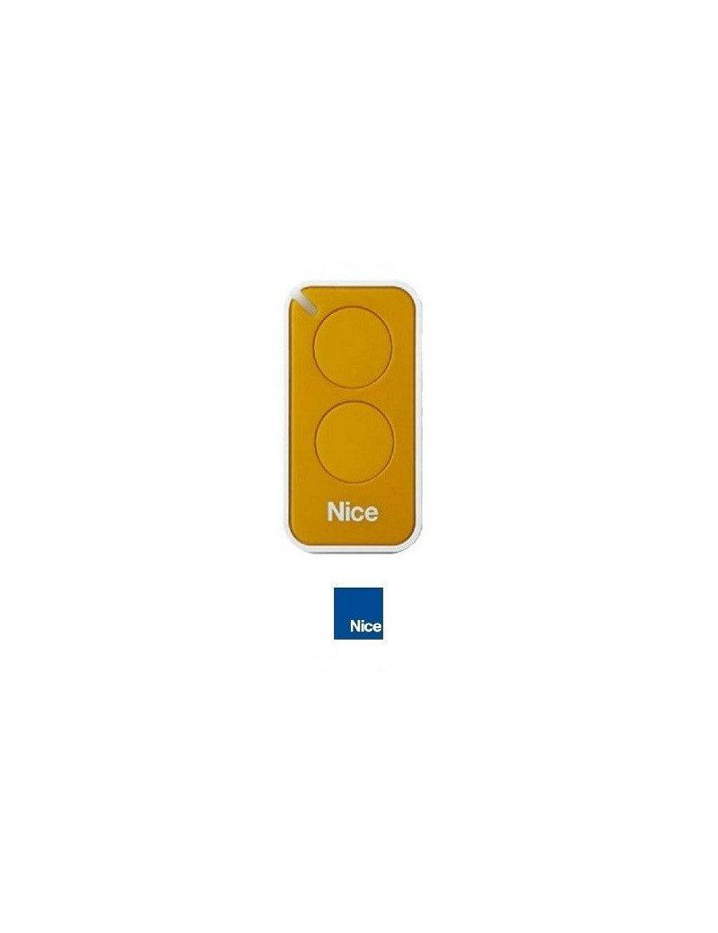 Telecommande Nice Era Inti jaune 2 canaux