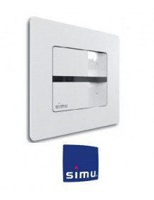 Simu 2008369 - Emetteur Simu Hz mural 1 canal