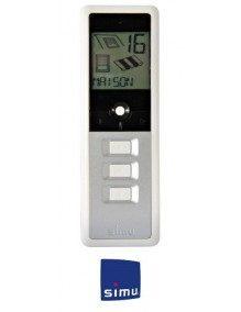Simu 2007349 - Telecommande Simu Hz 16 canaux Grise