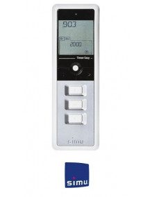 Simu 2008189 - Telecommande Simu Timer Easy 1 canal Grise