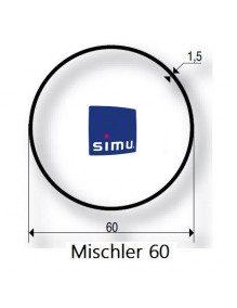 Simu 9521024 - Bagues Rond 60 Mischler moteur Simu T5 - Dmi5