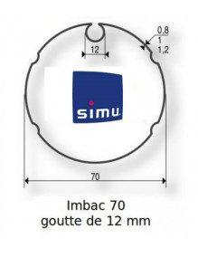 Simu 9521004 - Bagues Imbac 70 goutte 12 moteur Simu T5 - Dmi5