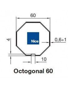 Nice 515.06000 - Bagues Octo 60 moteur Nice Era M et MH