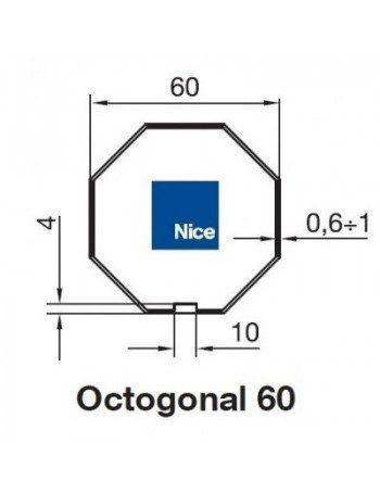 Bagues Octo 60 moteur Nice Era M et MH