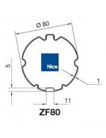 Nice 515.28000 - Bagues ZF80 moteur Nice Era M et MH