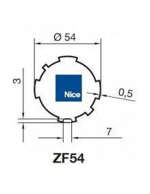 Nice 515.26254 - Bagues ZF54 moteur Nice Era M et MH