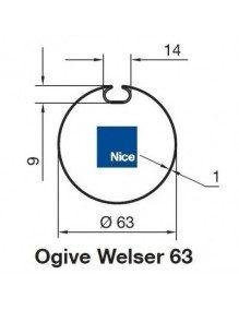 Nice 515.26200 - Bagues Ogive Wesler 63 moteur Nice Era M et MH