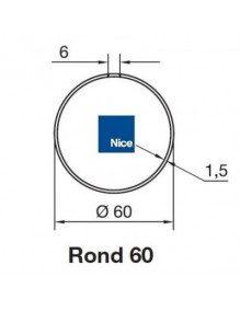 Nice 515.26000 - Bagues Rond 60x1,5 moteur Nice Era M et MH