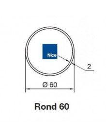 Bagues Rond 60x2 moteur Nice Era M et MH