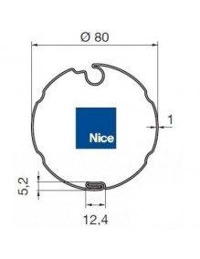 Nice 515.17300 - Bagues Ogive inclinée 80 moteur Nice Era M et MH