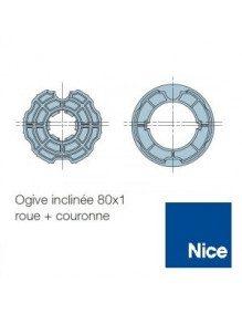 Bagues Ogive inclinée 80 moteur Nice Era M et MH