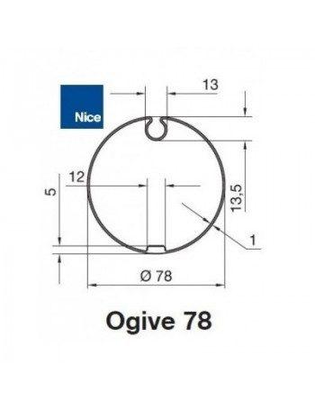 Bagues Ogive 78 moteur Nice Era M et MH