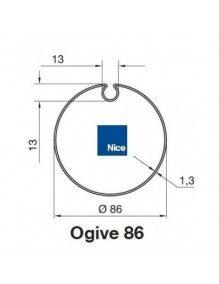 Bagues Ogive 86 moteur Nice Era M et MH