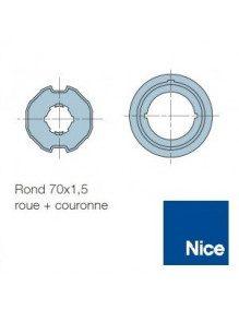 Bagues Rond 70 moteur Nice Era M et MH