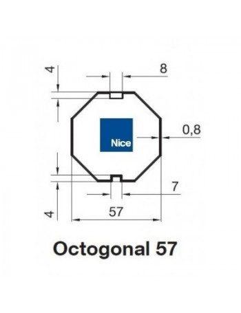 Bagues Octo 57 moteur Nice Era M et MH