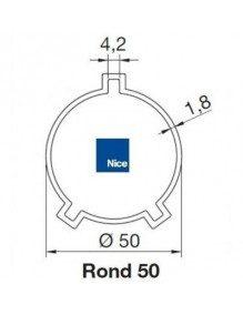 Nice 515.25005 - Bagues Rond 50x1.8 moteur Nice Era M et MH