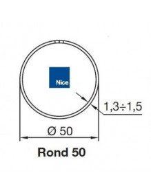 Nice 515.25006 - Bagues Rond 50x1,3/1,5 moteur Nice Era M et MH