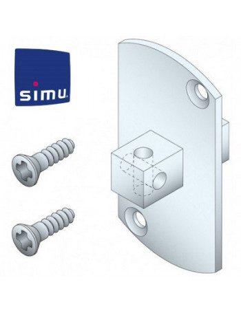 Support moteur Simu T5 carré