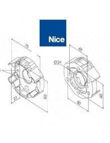 Support moteur Nice Era M compact alu