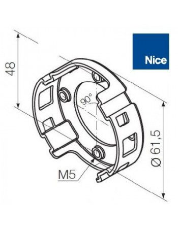 Support moteur Nice Era M compact