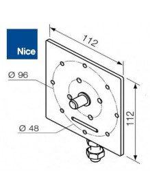 Support moteur Nice Era MH réglable diamètre 10 mm