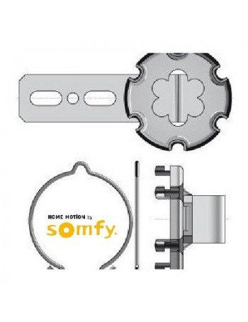 Support moteur Somfy LT50 à visser avec déport