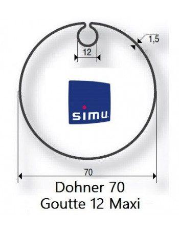 Bagues Donher 70 goutte 12 moteur Simu T5 - Dmi5