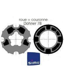 Bagues Donher 78 goutte 14 moteur Simu T5 - Dmi5