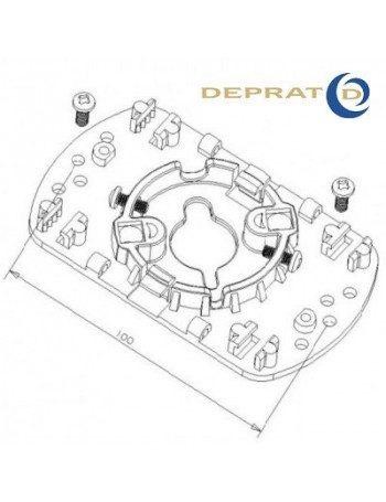 Support moteur Deprat electronique entraxe 100